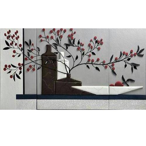 皮雕画花-5