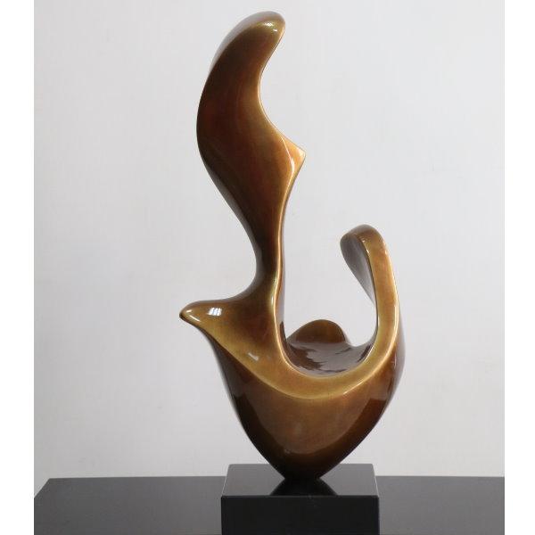 静候2 - 雕塑类 - 烤漆雕塑 - 巧钰家饰艺术装置